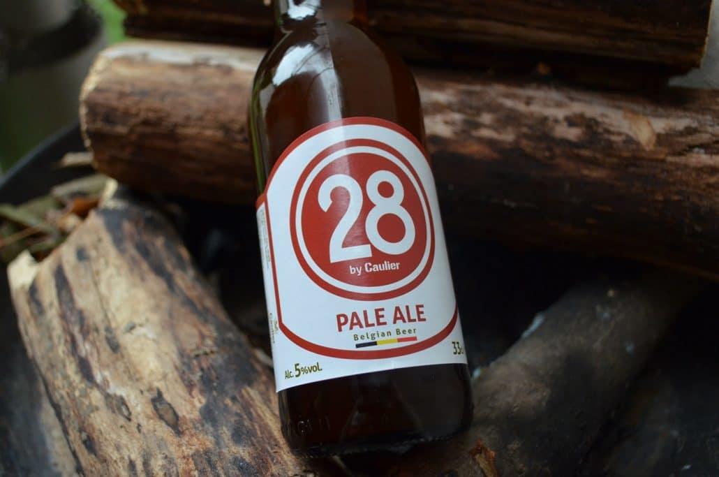 28 pale ale label