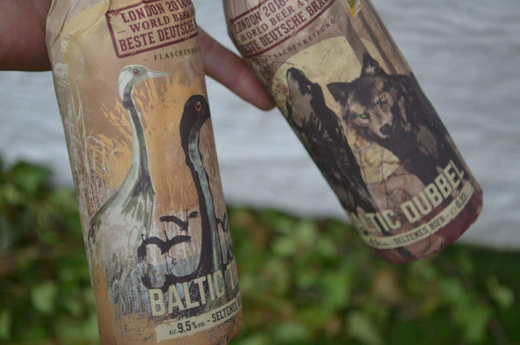 baltic dubbel en tripel flesjes